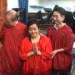 April Baptism 2011